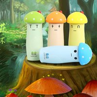 Wholesale Thermos Cup Creative Mushroom Shape Stainless Steel Vacuum Mug Cartoon Thermal Pot Cute and Lovely XMS Gift