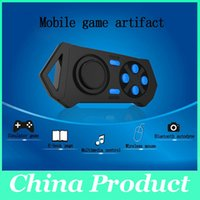 Wholesale New Arrival Wireless Bluetooth Game Controller Gamepad Joystick for Android phone Ios Smart Phone Smartphone