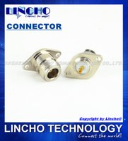 antenna hole plugs - coaxial N female hole panel mount connector N antenna socket plug
