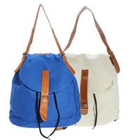 best price shoulder school bag - Best Price Fashionable Vintage Girls Women Casual Canvas Backpack Rucksack Shoulder Bag School Bags For Dual Use