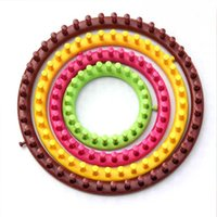 Wholesale New Hot selling Set DIY Round ABS Knitting Knit Wool Loom Sewing Needle Craft Sweater Circular Knitting Loom Tool