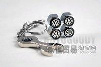 automotive gas caps - Volkswagen valve cap gas nozzle tyre valve cover with small automotive valve