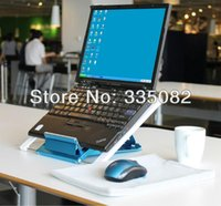 Wholesale price Adjustable Angle Laptop Stand Notebook Cooling Pad Cooler with Ultra USB fan