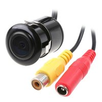 Wholesale Mini Car Rear View Car Reverse Backup Parking Waterproof CMOS Camera Black retailed package