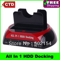 docking sata hdd docking - 2 quot quot SATA IDE Double Dock HDD Docking Station e SATA Hub External Storage Enclosure Parts
