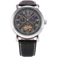 auto navigator - Navigator KS Luxury Brand Automatic Self Wind Wristwatches Black Auto Date Roman Numerals Men Skeleton Mechanical Watch KS222