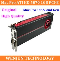 Wholesale High End original for Mac Pro ATI HD GB PCI E video graphic card for mac pro st gen nd gen video card High Quality order lt no tra