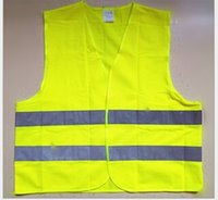 Wholesale Reflective yellow reflective vests at night Wheelwright Safety Vest Trafic Standard