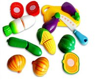 Wholesale 3set hot sale good quality toy fruit qieqie kitchen toy pretend play play house toys
