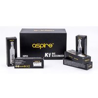 Wholesale Newest ml Aspire K1 Atomizer Electronic Cigarette Bottom Vertical Coil Aspire BVC K1 Vaporizer Aspire K1 Glassomizer Free DHL