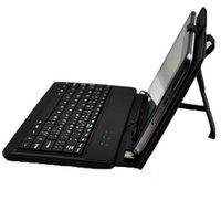 Wholesale 7inch Keyboard leather case suit for inch Android Tablet PC Flytouch Ainol Sanei Pipo Onda laptop