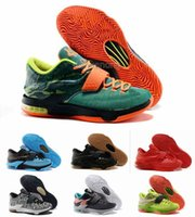 kd shoes - Cheap Kevin Durant KD VII Basketball Shoes For Men Top Quality Best Price Ranining Athletic Sneakers Eur Size