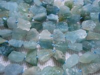 aquamarine rough stone - natural aquamarine crystal ore stone rough rock beads