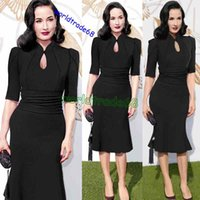 america ad - Europe ad America Style spring autumn fishtail gown stand up collar sleeves temperament of dress casual sexy fashion party women dress