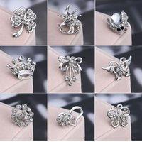 Wholesale quality fashion charming jewelry for women rhinestone brooch Hot brooch