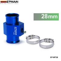 Wholesale Tansky EPMAN Water Temp Gauge Use a Commercial sensor attachment mm EP WT28 Aluminum Have in stock