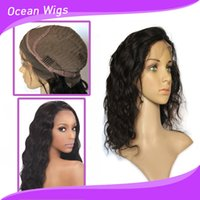 Wholesale Human wigs front lace wig Brazilian virgin remy hair natural color dyeable Indian hair color B front lace wig body wave lace wigs