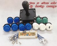 america pc game - kit for PC joystick PCB USB joystick PCB USB to jamma arcade game with America style push button and joystick