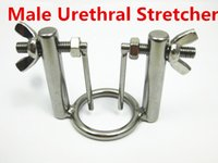 male urethra toys - Professional Adjustable Male Urethral Stretcher Penis Urethra Exploration Chastity Devices Sex Toys for Men SMGC US00456