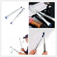 Wholesale Christmas Gift Pair Lightweight Rhythm Sticks Electronic Drum Sticks Musical Party Gimmick Kid Toy