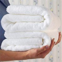 best cotton towels - 2015 New Best Luxury Hotel Spa Bath Towel Cotton White Solid Towels