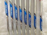 Wholesale Golf shafts Rifle project X5 Steel shaft R S Golf clubs irons shafts high quality