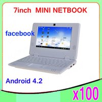 Wholesale DHL best price inch via8880 android very cheap mini laptop ZY BJ