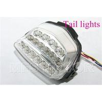 Wholesale motorcycle parts LED Tail Brake Light For Handa CBR RR CBR1000RR RR Fireblade Clear