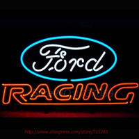 american auto glass - Foord American Auto Racing Neon Sign Bright Neon Bulbs Real Glass Tubes Handcrafted Recreation Room Free Custom Design x14