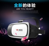 Wholesale 2015 Mate VR BOX VR D Glasses Xiaozhai nd Generation D Glasses VR BOX II Upgraded Version Virtual Reality Headset Video Game Glasses