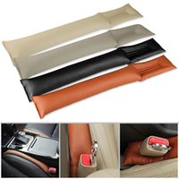 Wholesale 2X PU Leather Vogue Luxury Car Seat Cover Gap Filler Soft Pad Holster Blocker