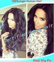 Wholesale Queen Hair natural color unprocessed virgin Malaysian hair front lace wig glueless full lace wig with baby hair for African americans