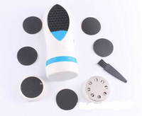 Wholesale Electric Foot Pedicure Tool Kits Foot Skin Peeling Grinding Massager Smooth Foot Pedi File Remover New