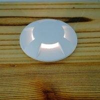 aluminum patio set - Way Lighting Angle Aluminum LED Inground Light IP67 LED Outdoor Patio Lamp Set of White Brown Cover