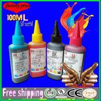 al por mayor epson printer-100ML tinta recargable compatible de calidad superior y tinta de CISS para la impresora del lexmark del hermano del epson del epson del hp mejor calidad 4color bk y c m
