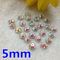Wholesale 1440pcs mm Round One Hole Sew On Stone Crystal Cleaer AB Color XILION Lochrose ss20 Sew On rhinestone