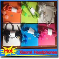 Wholesale Xiaomi headphones Earphones Headset Earbud with Mic S Mi Hongmi Universal for Hongmi Phones samsung head phones