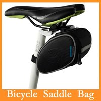 Wholesale Roswheel Outdoor Cycling Mountain Bike Tail Bag Bicycle Saddle Bags Package Riding Pouch Supplies Bicycle Seat Panniers Via DHL