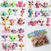 best toys shop - 50PCS Hasbro Littlest Pet Shop Mini Toy Hasbro Action Figures Littlest Pet Shop Collector Party Pack Doll Best Gifts For Kids
