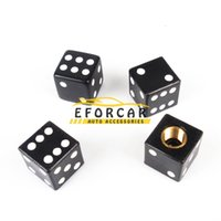 4pcs / set Tire Air Valve Cap Pneus Roue poussière Tiges dés caps Bolt in Type Ventil Valve pour Auto Car Truck Moto