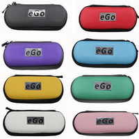 Wholesale eGo Zipper Case Leather Bag Multi Color For Electronic Cigarette Starter Kit Small Medium Large Size DHL shipping