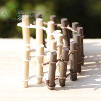 barrier fencing - 10pcs Bonsai Resin Small Garden mini Fence Craft Decorative Gnome Decoration Tools Jardin Microlandschaft Miniatures Barrier Fencing Home