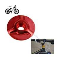 Wholesale 3 cm cm cm CNC Aluminum Alloy MTB Mountain Road Bikes Bicycles Ultra light Multicolour Headset Head Cover Cap Parts
