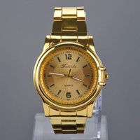 Wholesale Men s Fashion Quartz Wrist Watch Steel Band Watches Stainless Steel Casual Business Sport Cool Wristwatch Gift DHL MPJ582