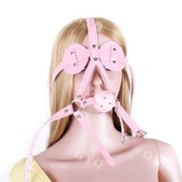 bandages for horses - GYQ Pink horse with blinders gag Bandage man woman Toy sex products adult sex toys for couples men women WQ868