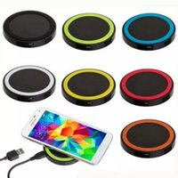 Wholesale For Samsung S6 edge Q5 Qi Wireless Power Pad Charger for Galaxy S4 Note3 Nokia Lumia HTC Nexus5 LG wireless charger pad