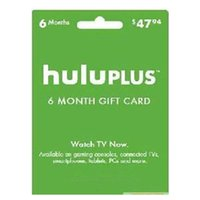 Wholesale Hulu Plus month months ONLY USA Gift Subscription Gift Card software keys code send code Only in hours in stock