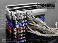 Wholesale Extreme mountaineer trigger M2 th design premium aluminum bumper Metal Case For iphone s Plus iphone S Samsung S6 S7