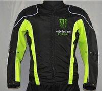 jacket racing - NEW BLACK Waterproof road racing jacket motorbike racing coat Brand cool motor jacket classic Motorcycle Auto Racing kawasaki AHA
