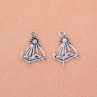 Cheap New Fashion Vintage Charms 65pcs Tibetan Silver Sunbather Beach Chair People Charms Pendant DIY Jewelry Fitting 24X18 mm S6115